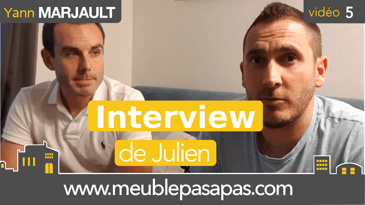 Immobilier meublé : interview de Julien Loboda